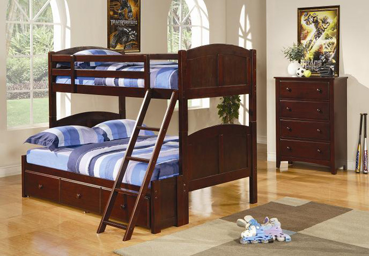 Coaster 460212 Twin-Full Bunk Bed