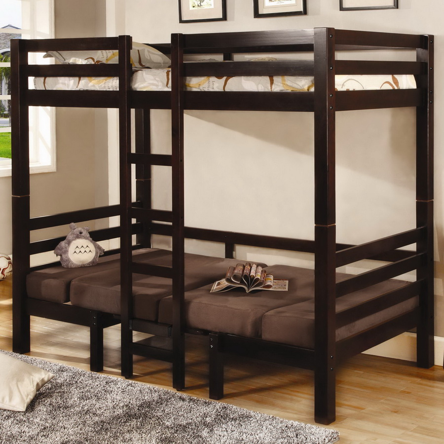 Coaster 460263 Twin-Twin Convertible Loft Bed