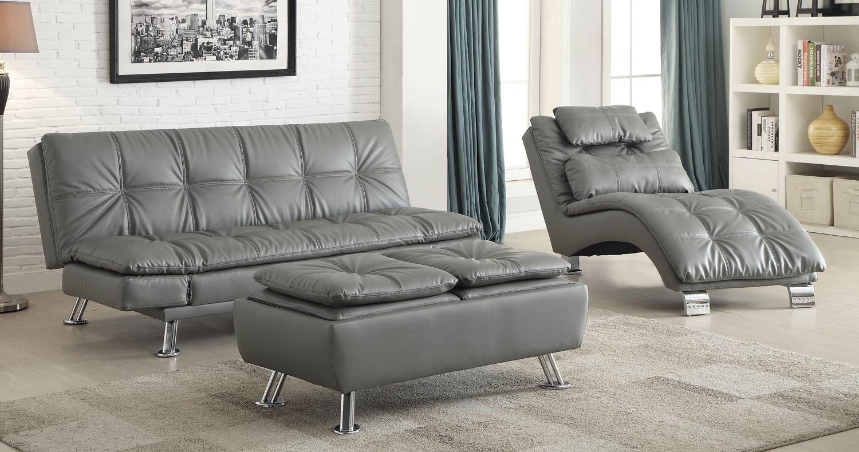 Coaster Dilleston Sofa Set - Grey