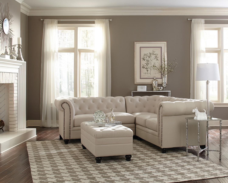 Coaster 500222 Sectional Sofa Set