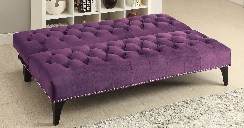 Coaster 500235 Sofa Bed - Purple
