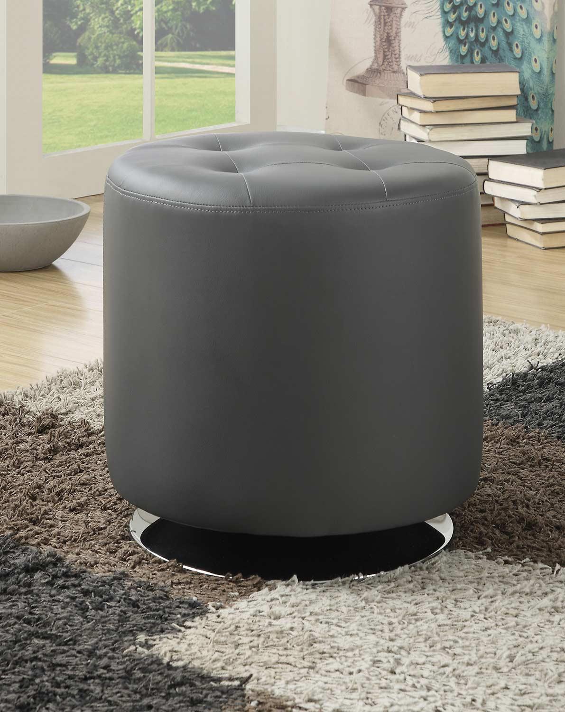 Coaster 500555 Ottoman - Grey