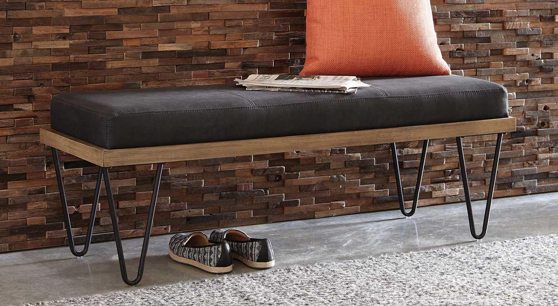 Coaster 500574 Bench - Black