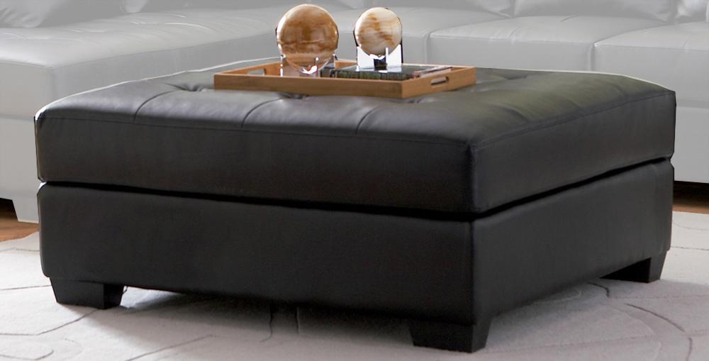 Coaster Darie Ottoman - Black