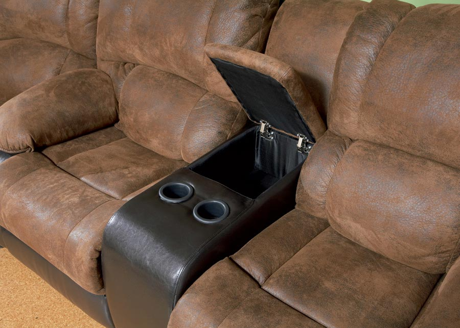 Ronan Double Reclining Love Seat - Coaster