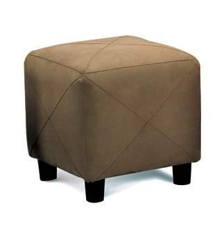 Coaster Cermak Mocha Cube Ottoman