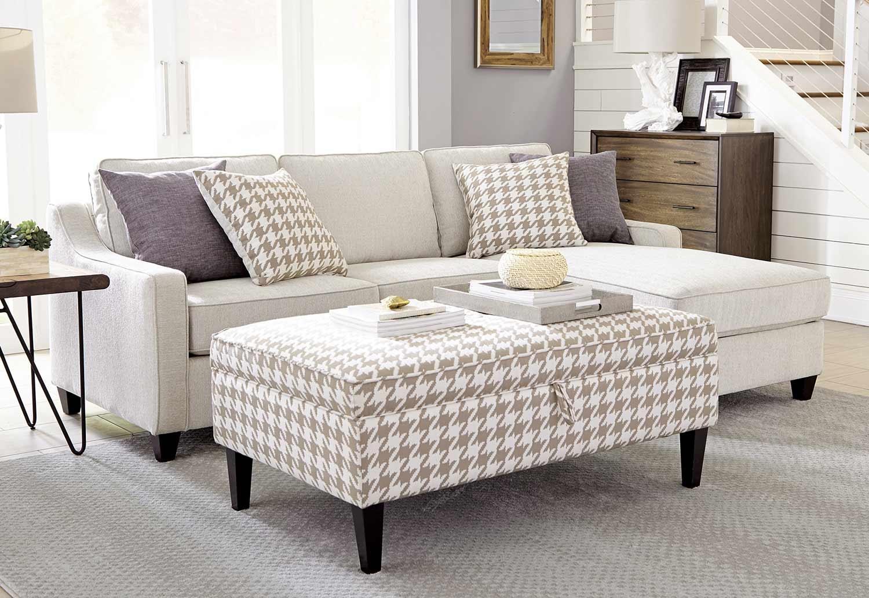 Coaster Montgomery Sectional Sofa Set - Cream