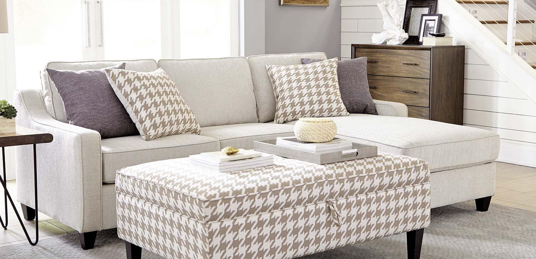 Coaster Montgomery Sectional Sofa- Cream