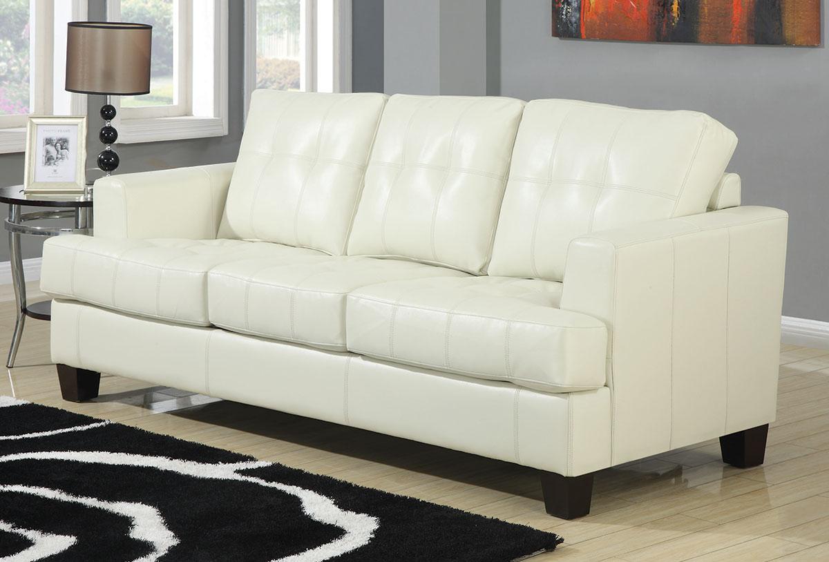 Coaster Samuel Sleeper Sofa - Cream