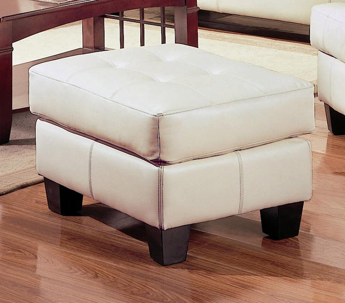 Coaster Samuel Ottoman - Cream