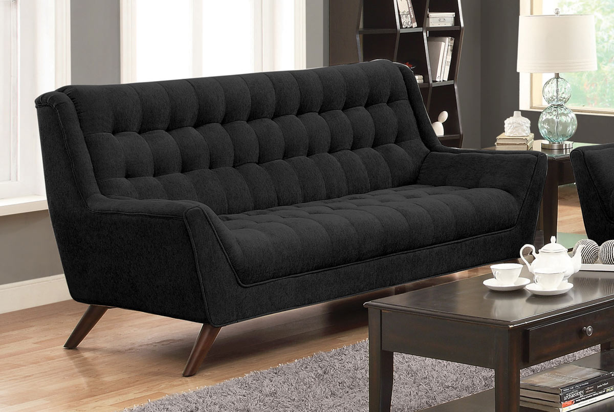 Coaster Natalia Sofa - Black