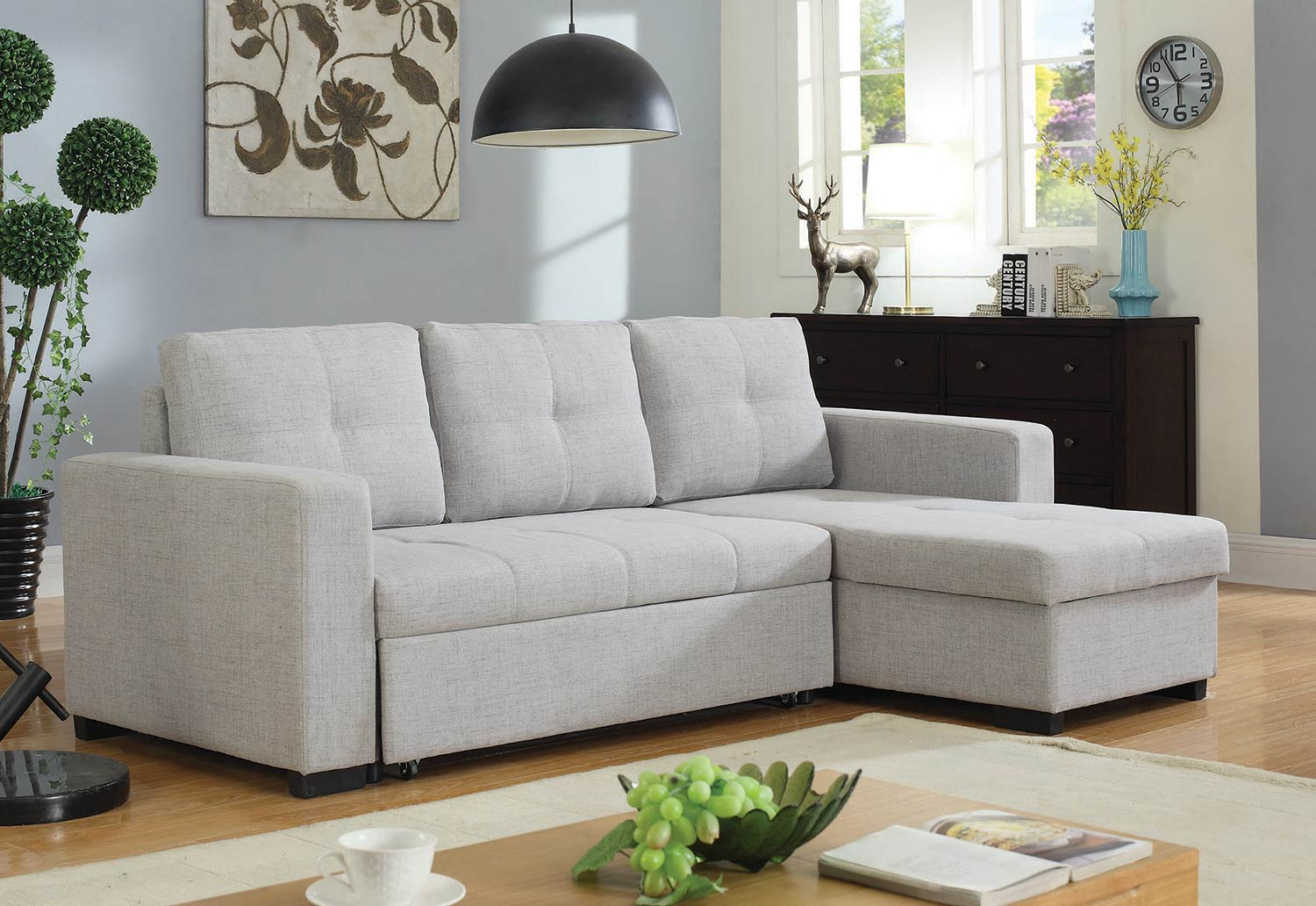 Coaster Everly Sectional Sofa - Beige