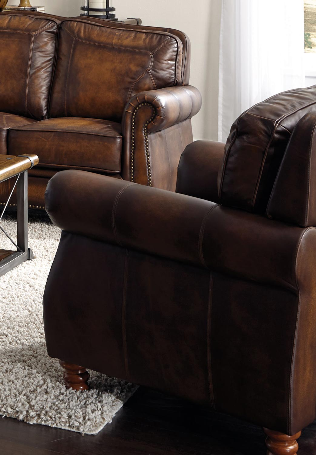 Coaster Montbrook Chair - Hand Rubbed Brown