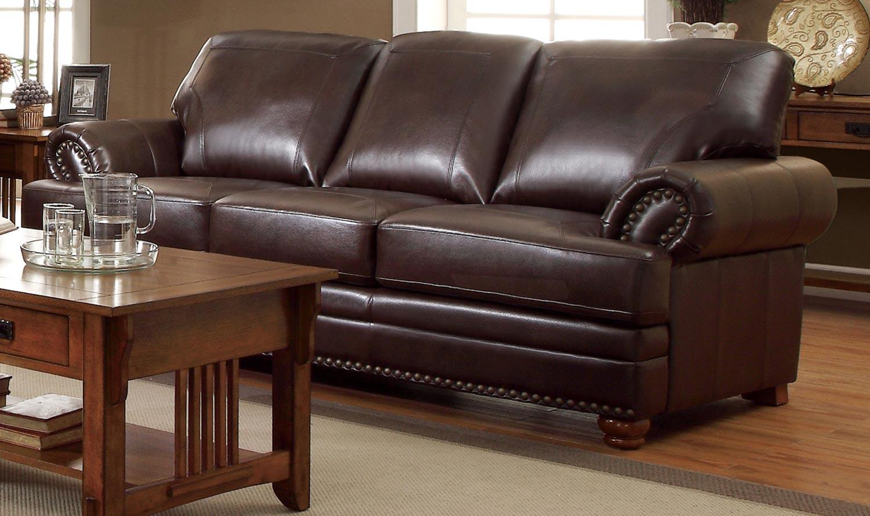 Coaster Colton Sofa - Brown