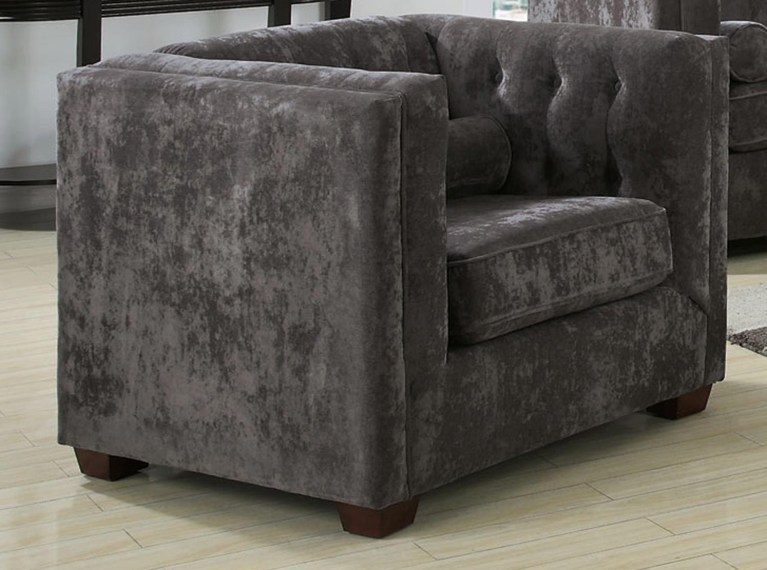 Coaster Alexis Chair - Charcoal