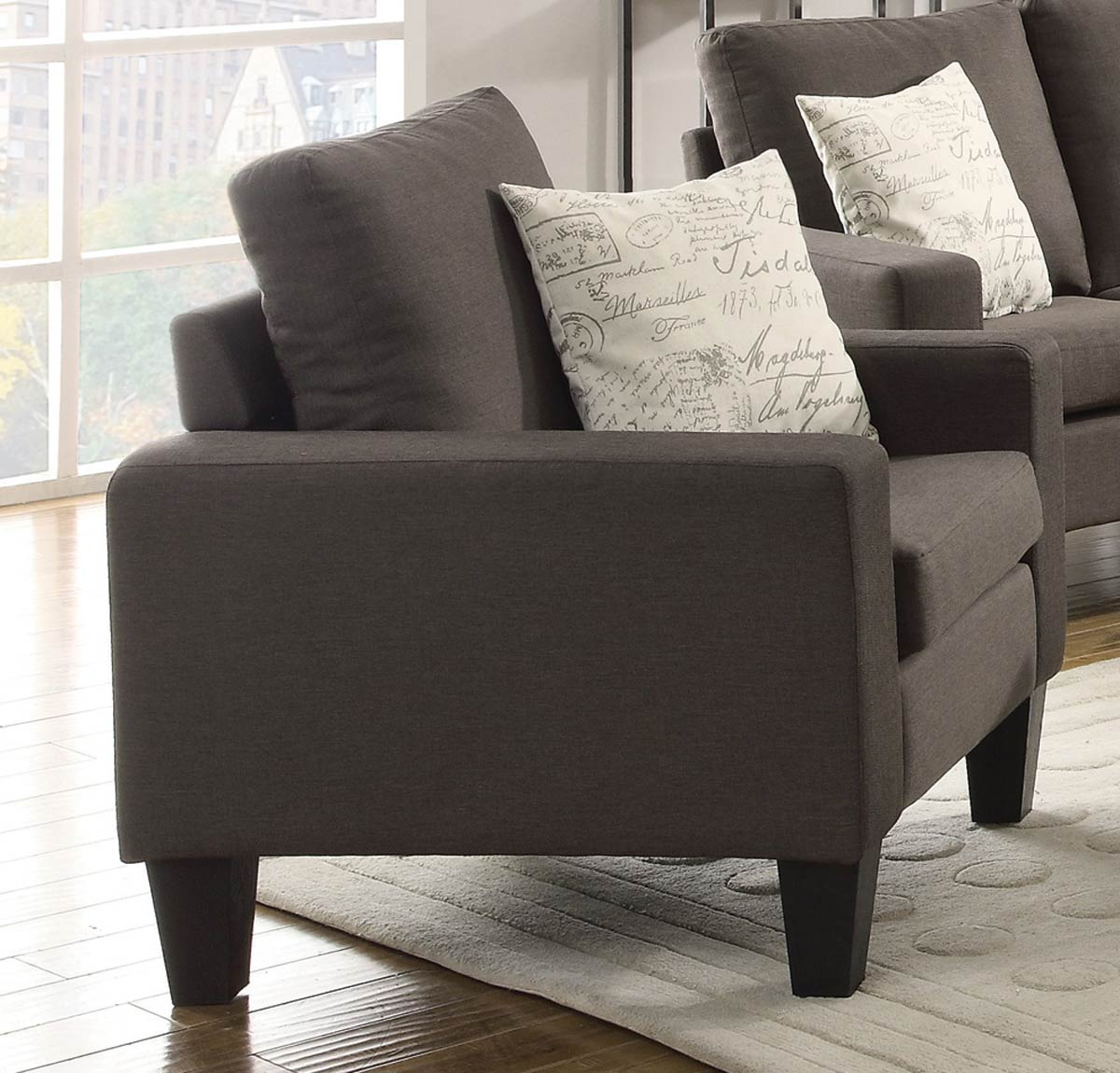 Coaster Bachman Chair - Grey