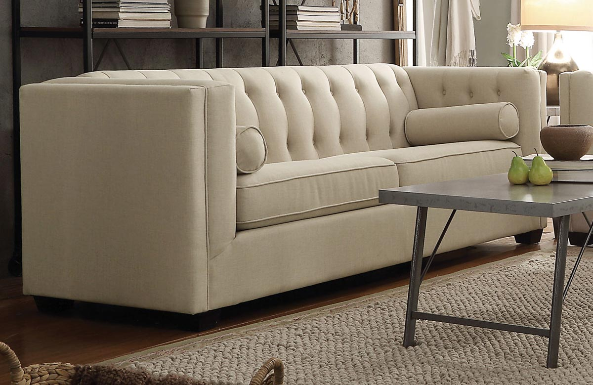 Coaster Cairns Sofa - Oatmeal
