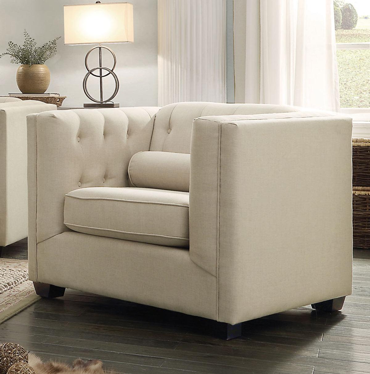 Coaster Cairns Chair - Oatmeal