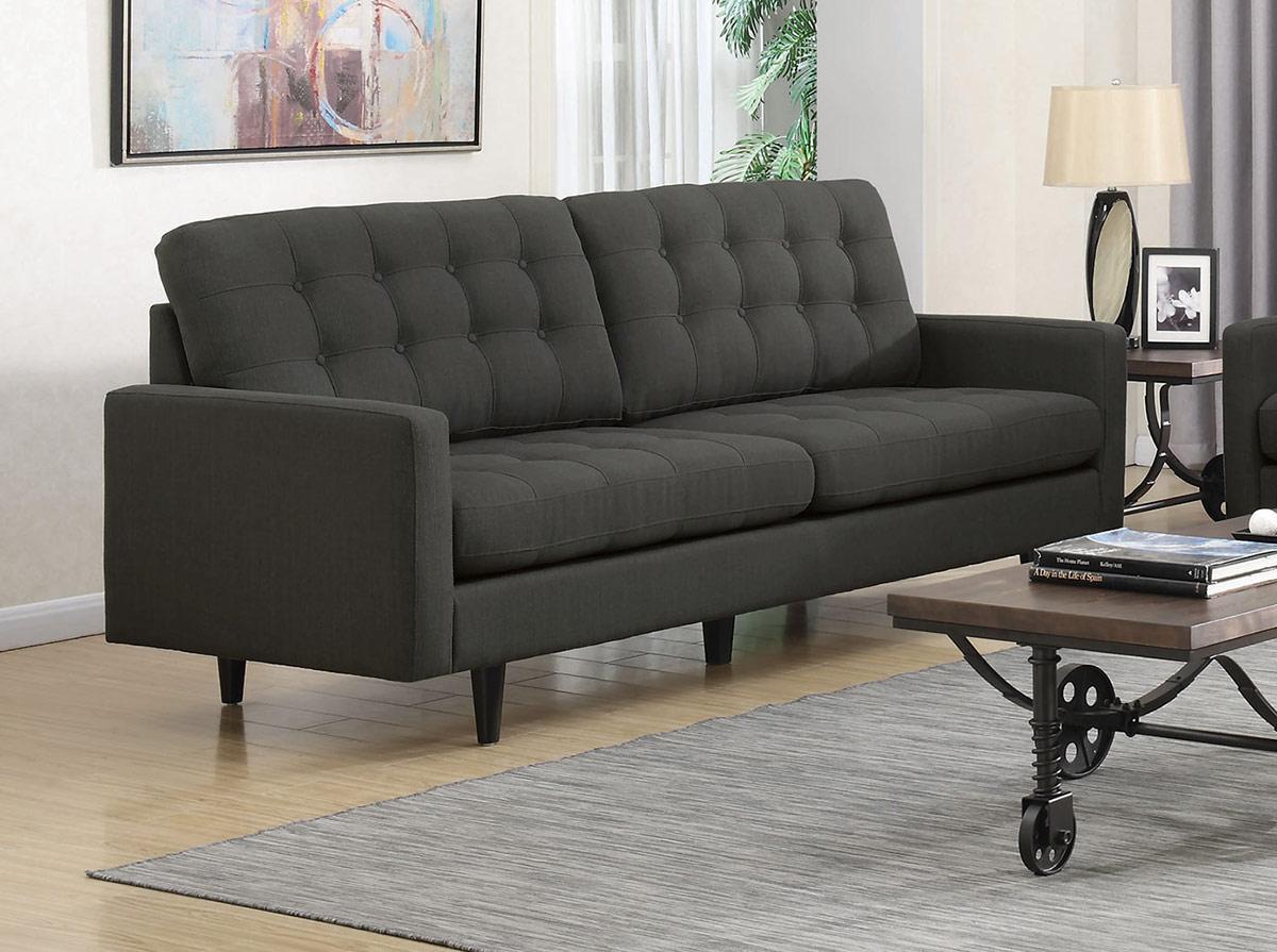 Coaster Kesson Sofa - Charcoal