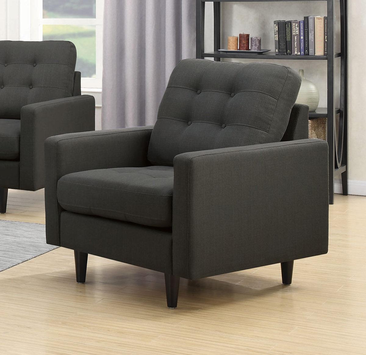 Coaster Kesson Chair - Charcoal