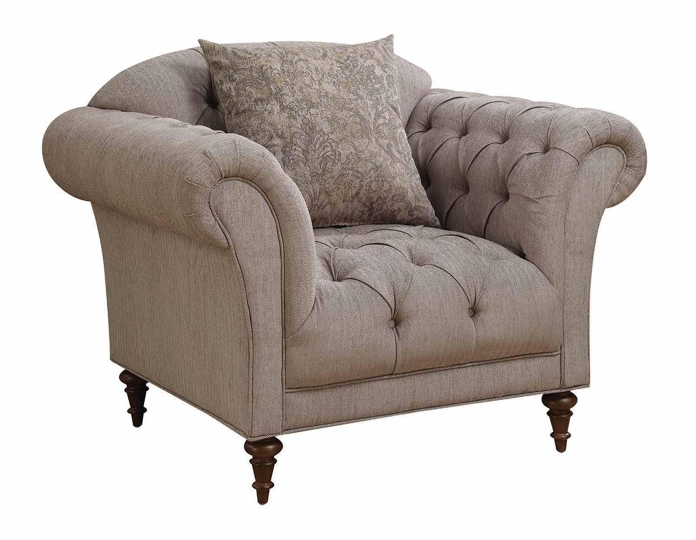 Coaster Alasdair Chair - Light Brown