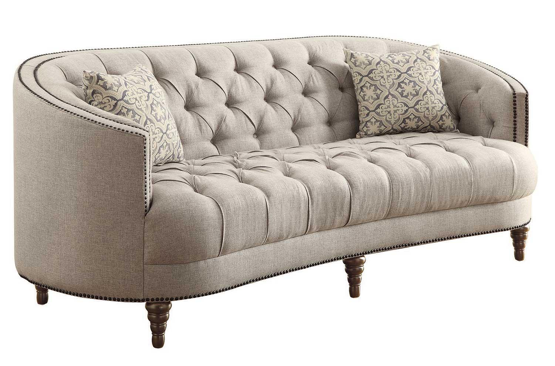 Coaster Avonlea Sofa - Stone Grey