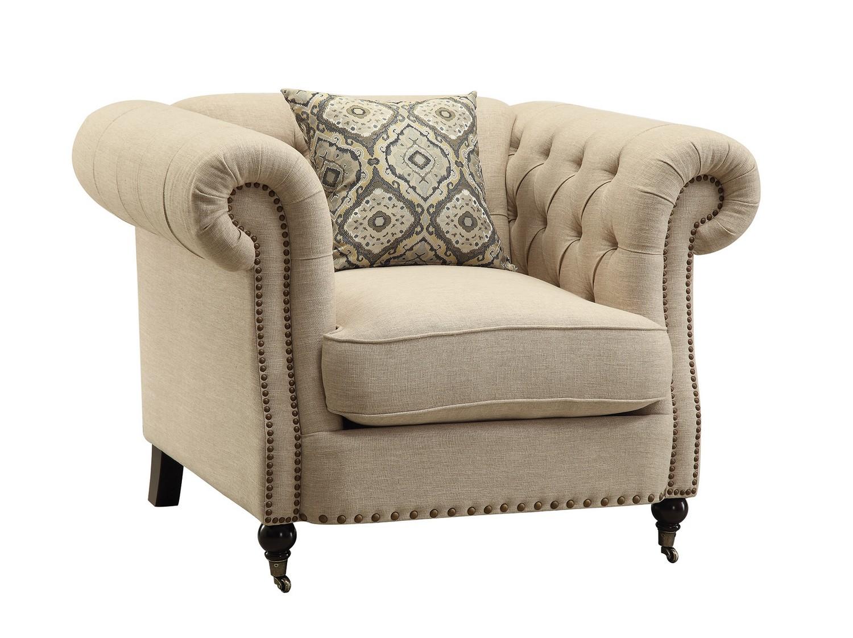 Coaster Trivellato Chair - Oatmeal