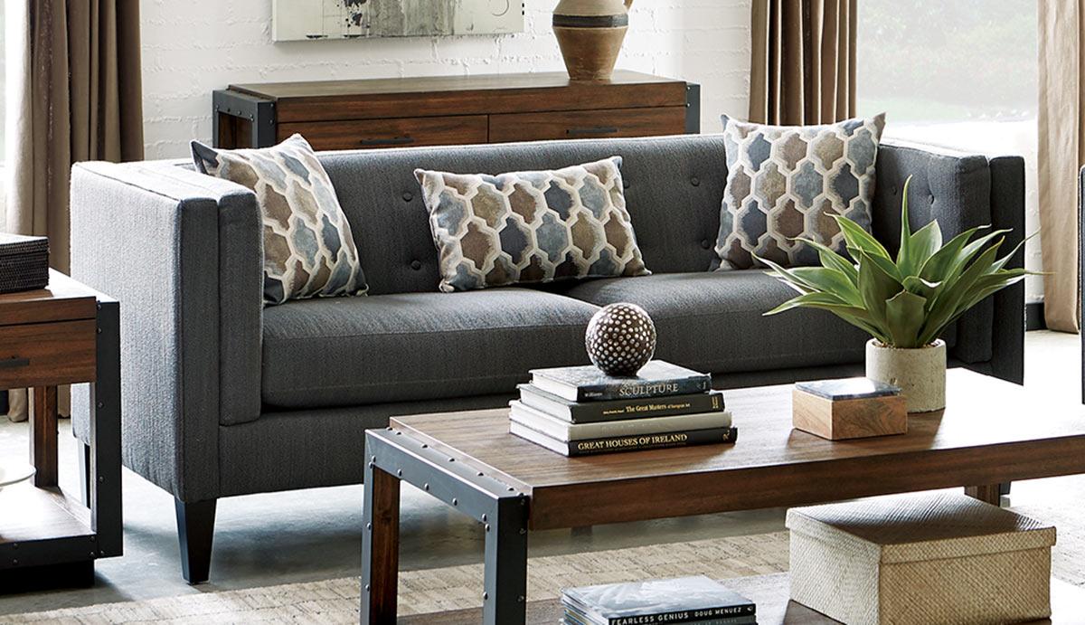 Coaster Sawyer Sofa - Dusty Blue
