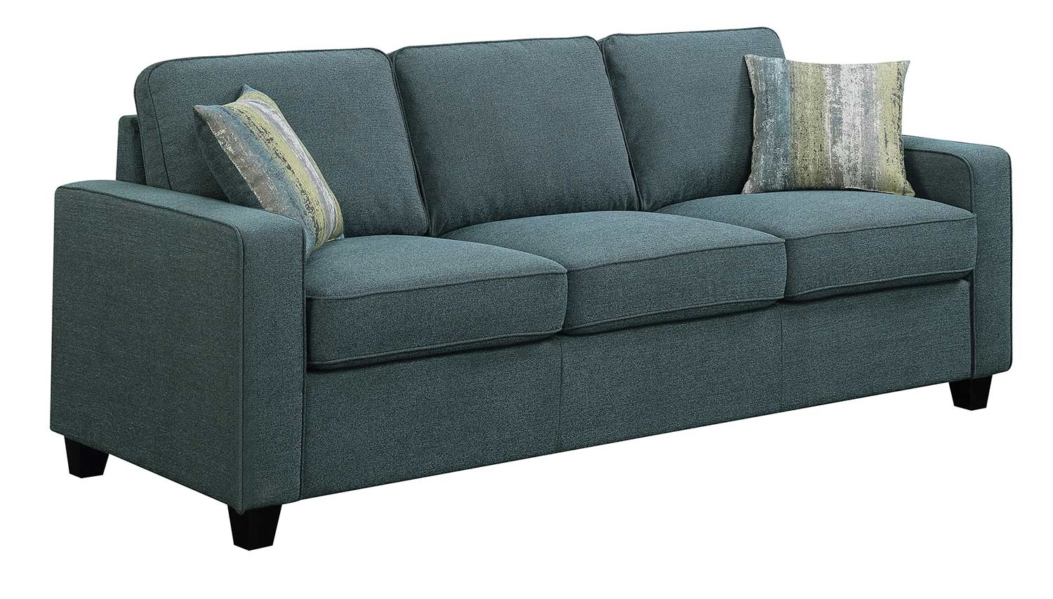 Coaster Brownswood Sofa - Light Blue