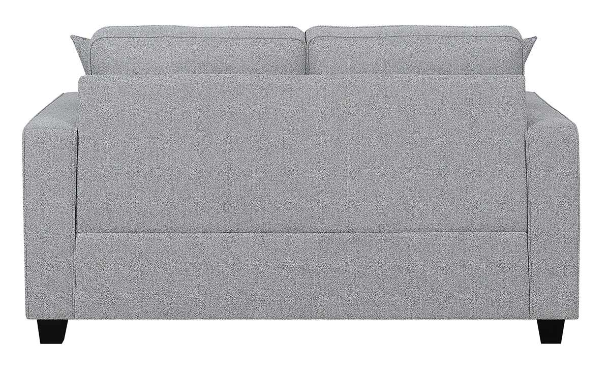 Coaster Brownswood Loveseat - Light Grey