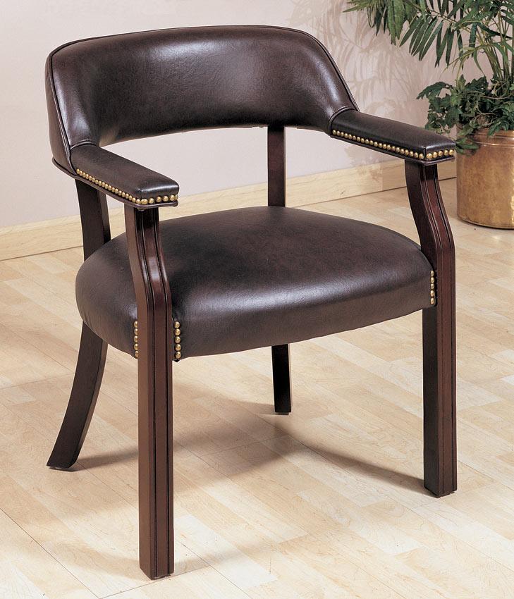 Coaster 511X Office Chair - Burgundy Vinyl