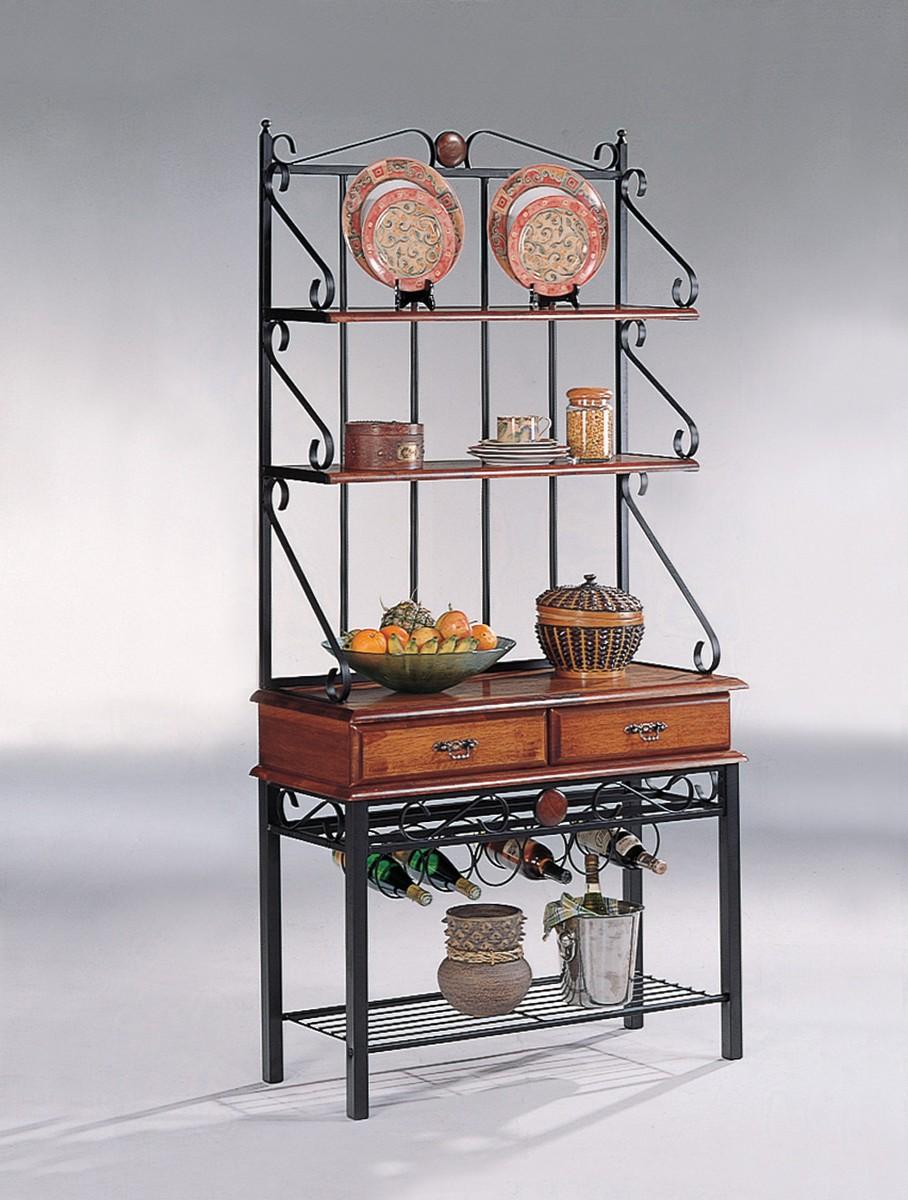 Coaster 5424 Baker's Rack - Tobacco