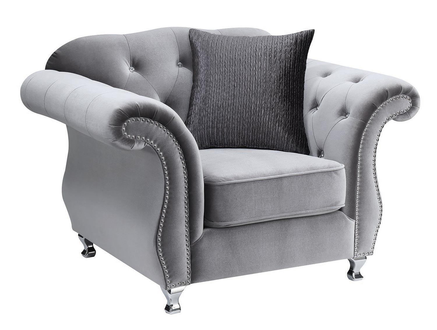 Coaster Frostine Chair - Silver