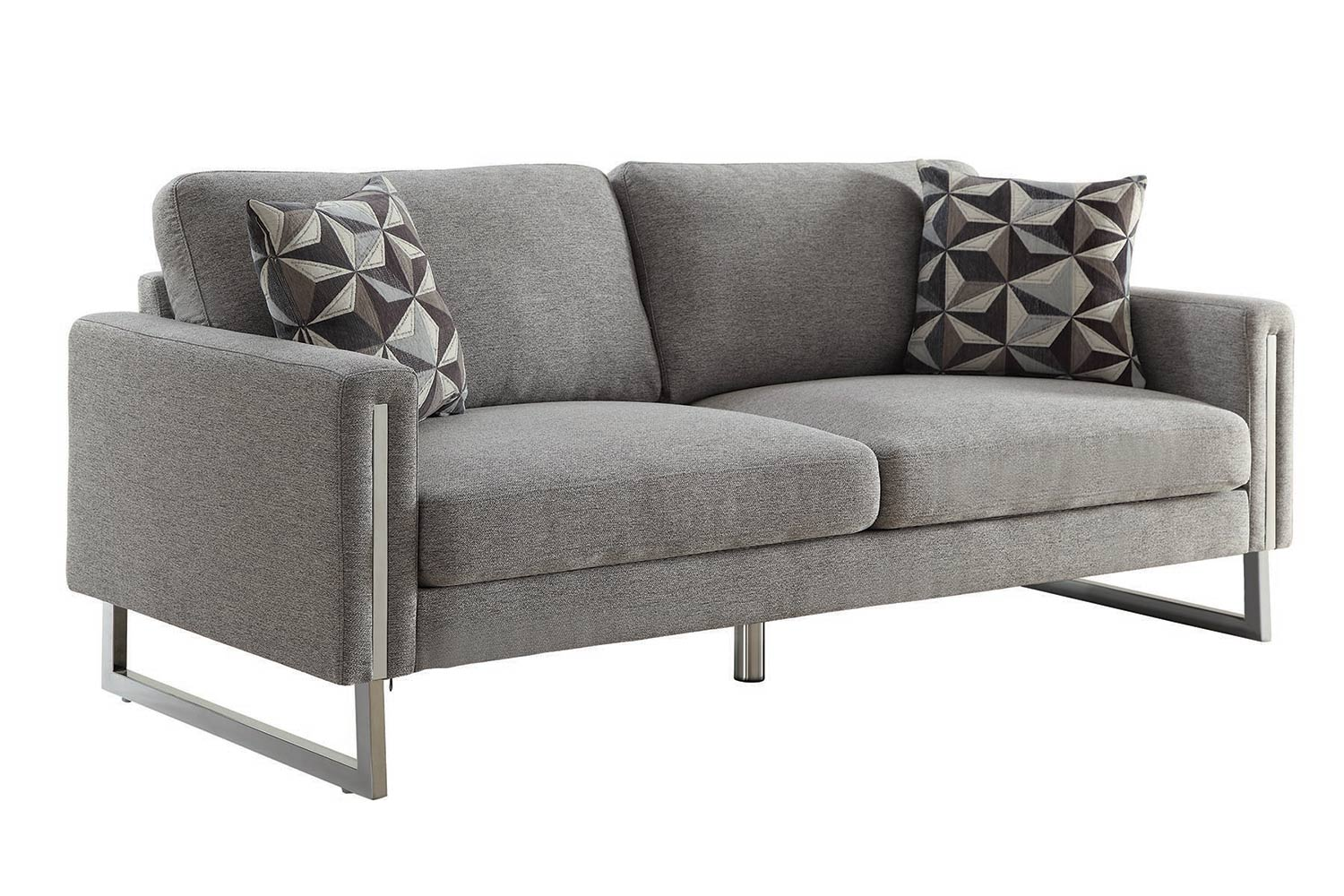 Coaster Stellan Sofa Set Grey 551241 Sofa Set At