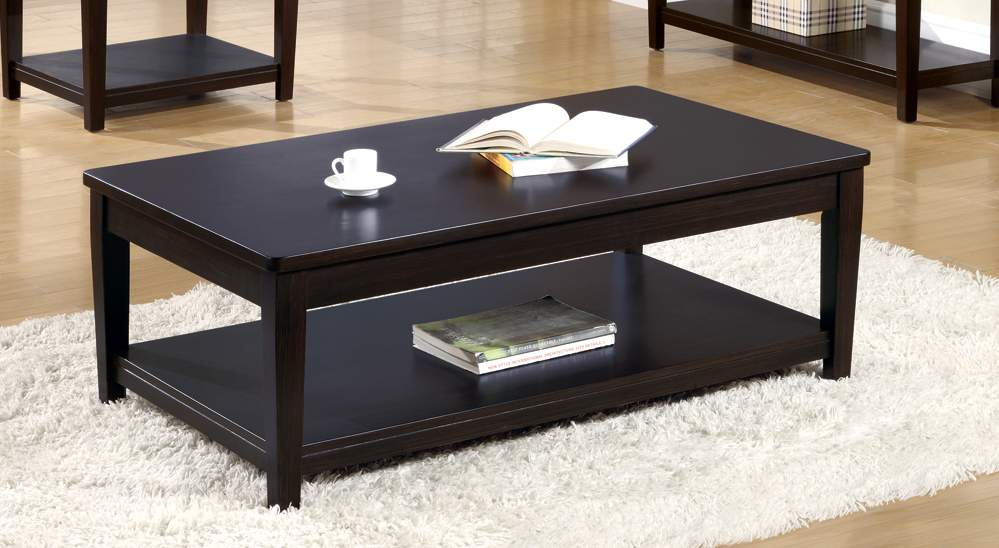 Coaster mcgill coffee table 5522 at for Coffee table 48 x 30