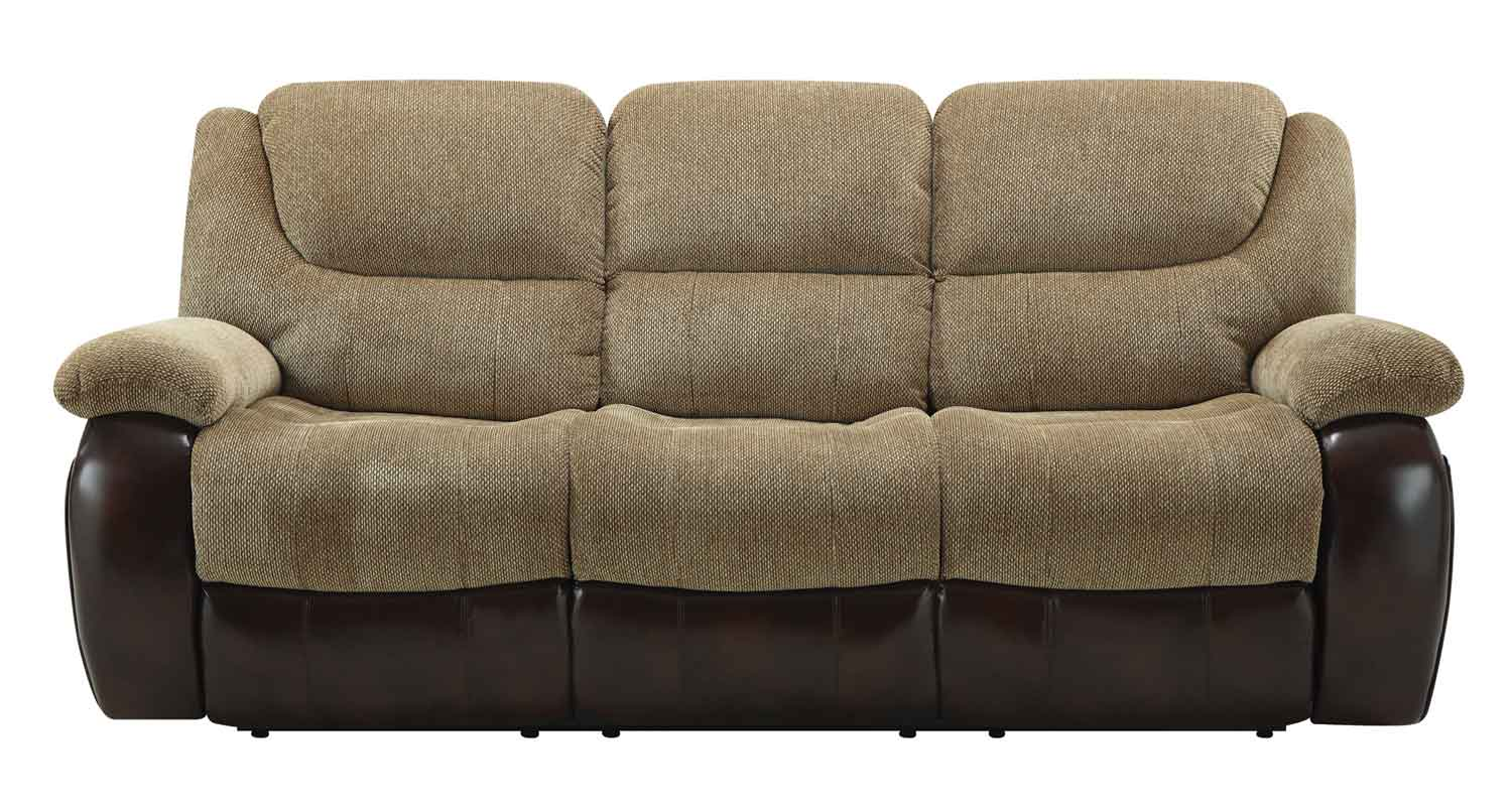 Coaster Malena Motion Sofa - Tan