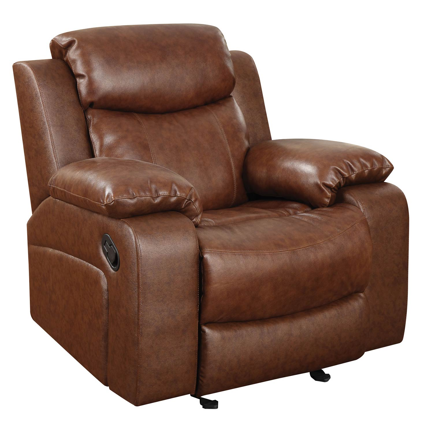 Coaster Ellsworth Motion Rocker Recliner - Brown 601211R