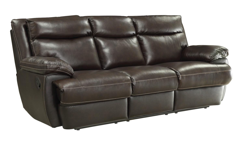Coaster MacPherson Reclining Sofa - Cocoa Bean