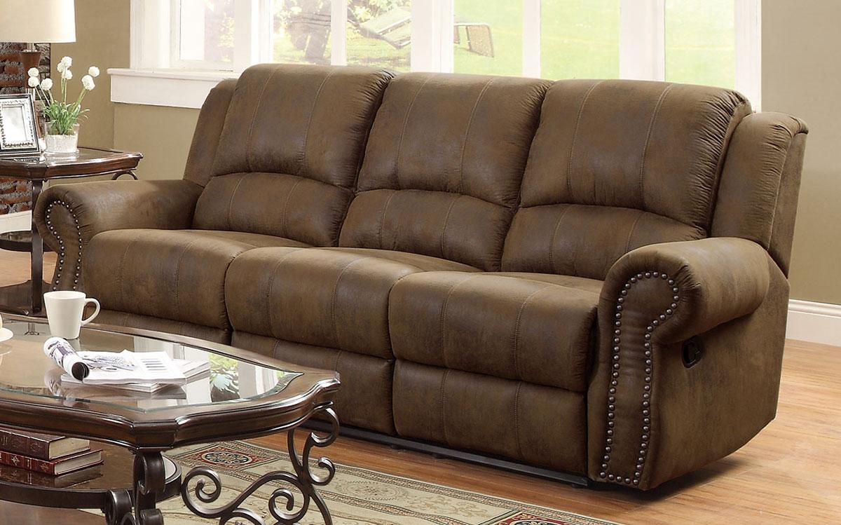 Coaster Sir Rawlinson Motion Sofa - Brown 650151
