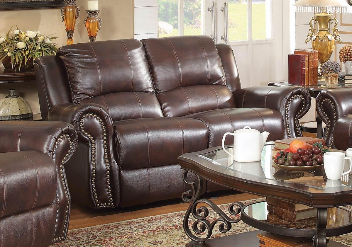 coaster sir rawlinson motion power sofa set
