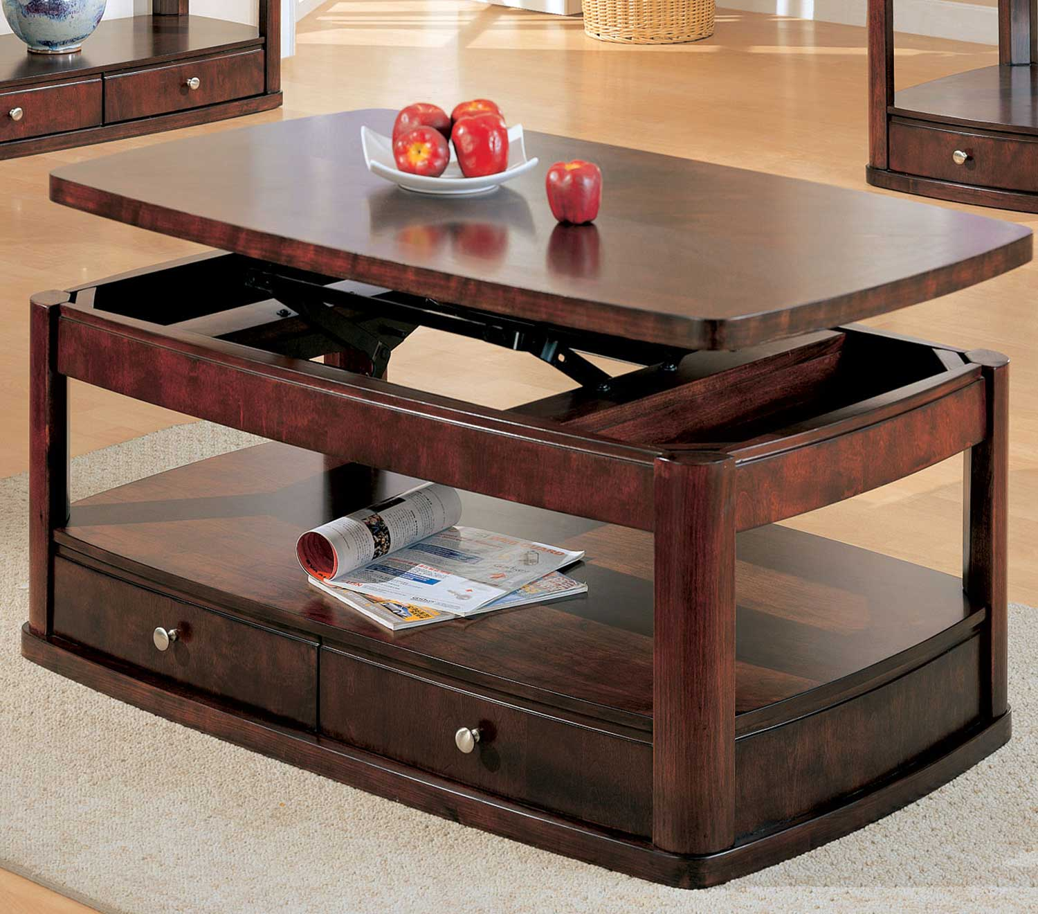 Coaster Evans Coffee Table 700248 At