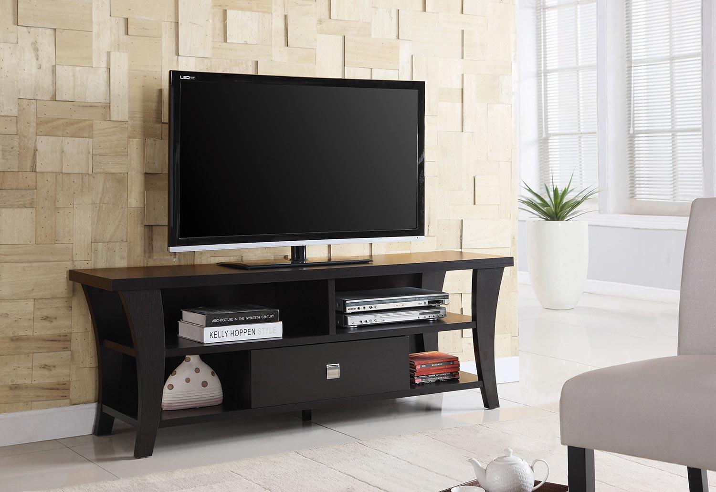 Coaster 700497 TV Console - Cappuccino