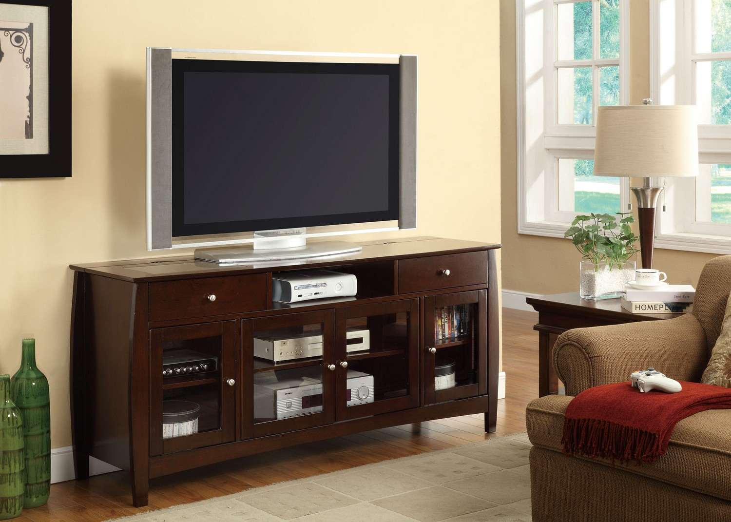 Coaster 700693 Connect-it TV Console - Espresso