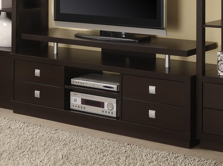 Coaster 700696 TV Console - Cappuccino