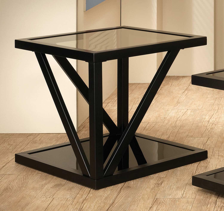 Coaster End Table - Black 700767