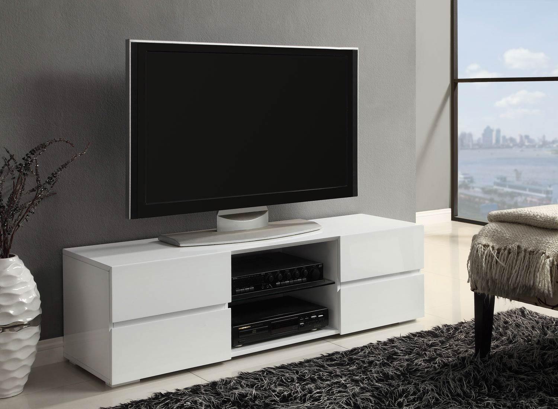 Coaster 700825 TV Stand - White