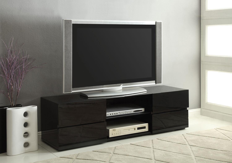 Coaster 700841 TV Stand - Black