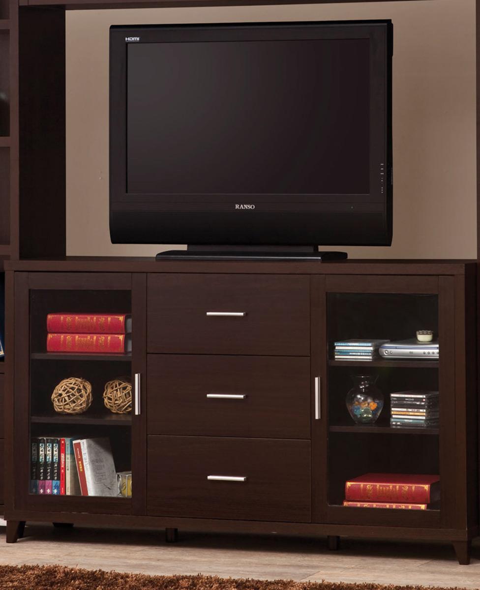 Coaster 700881 TV Console - Cappuccino