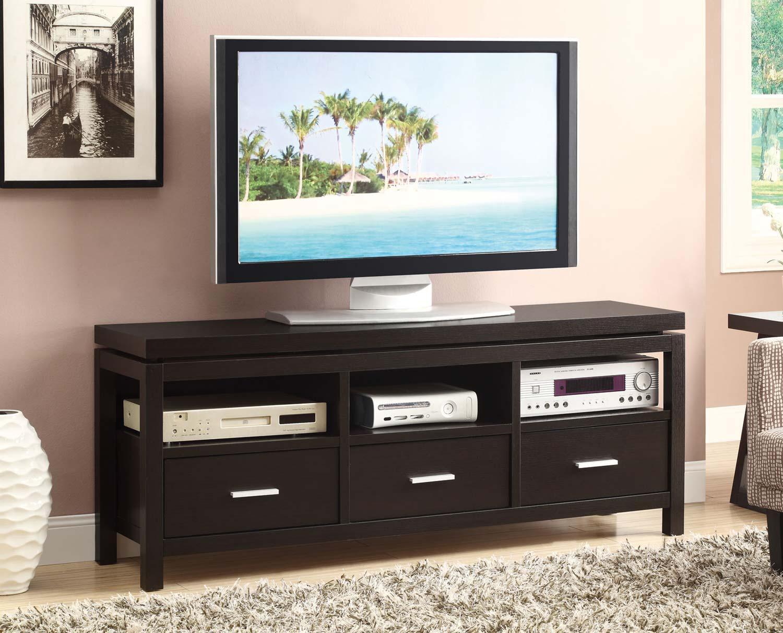 Coaster 700885 TV Console - Cappuccino