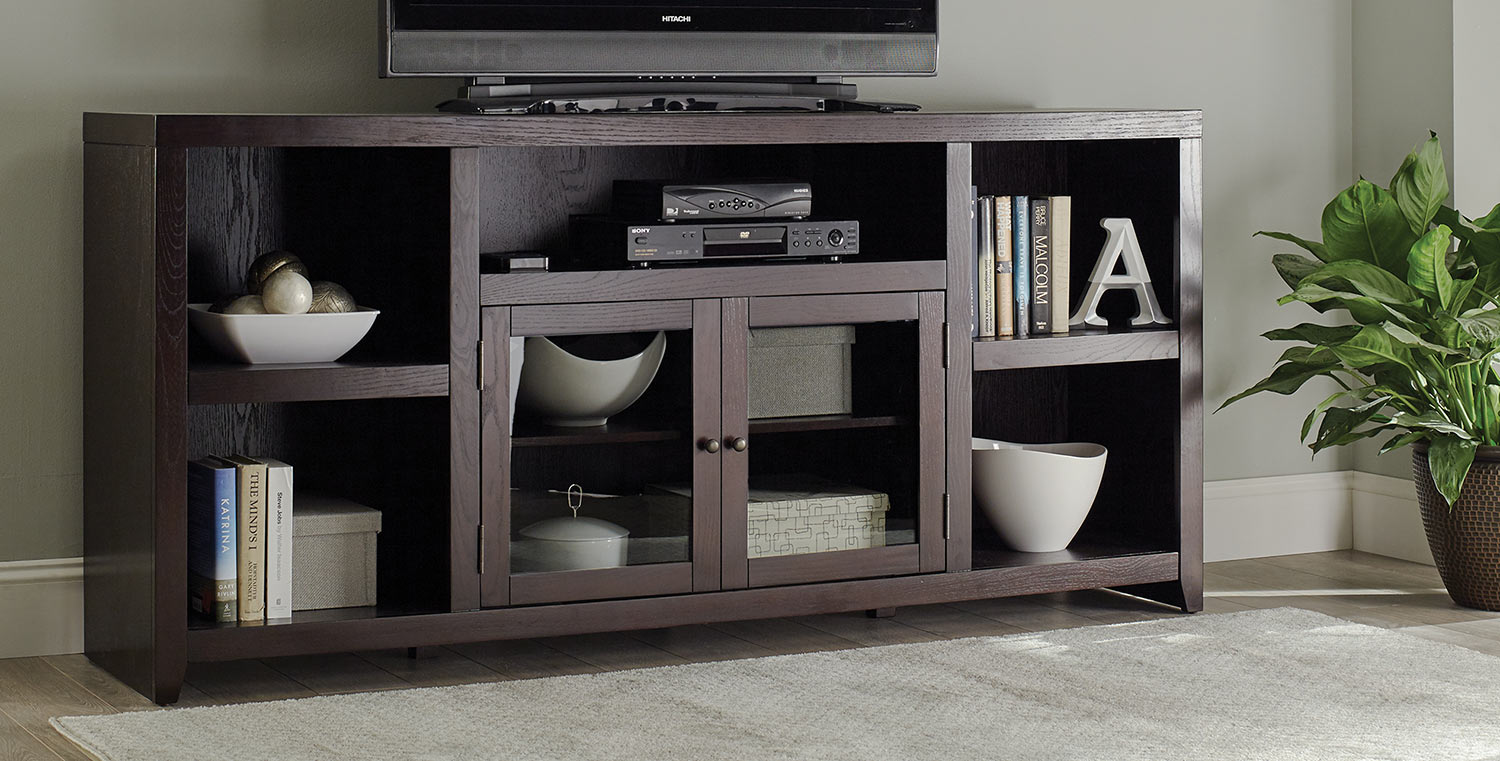 Coaster Breckinridge TV Console - Dark Cappuccino